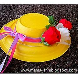 Homemade Easter Hat