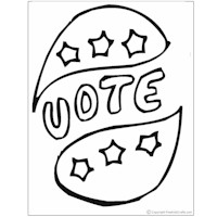 Image of Election Day Coloring Pages
