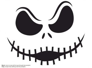 Image of Make A Jack Skellington Pumpkin