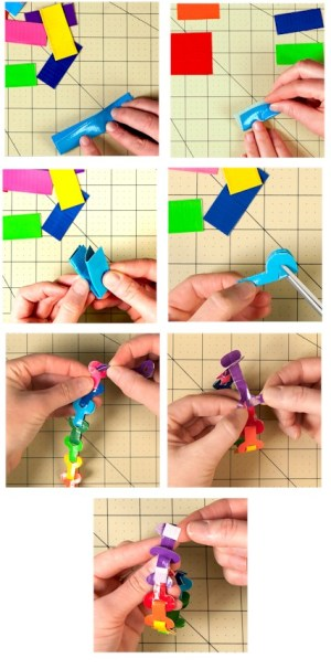 Image of Key Link Duck Tape® Bracelet