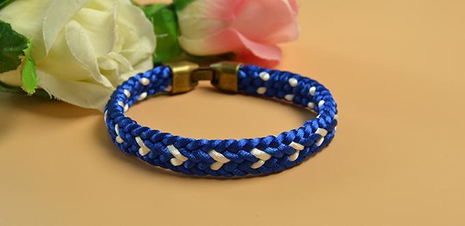 Image of Kumihimo Braided Friendship Bracelet