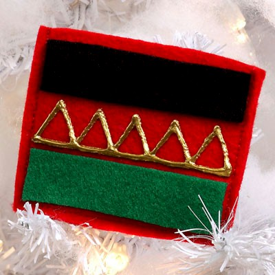 Image of Kwanzaa Gift Pouch