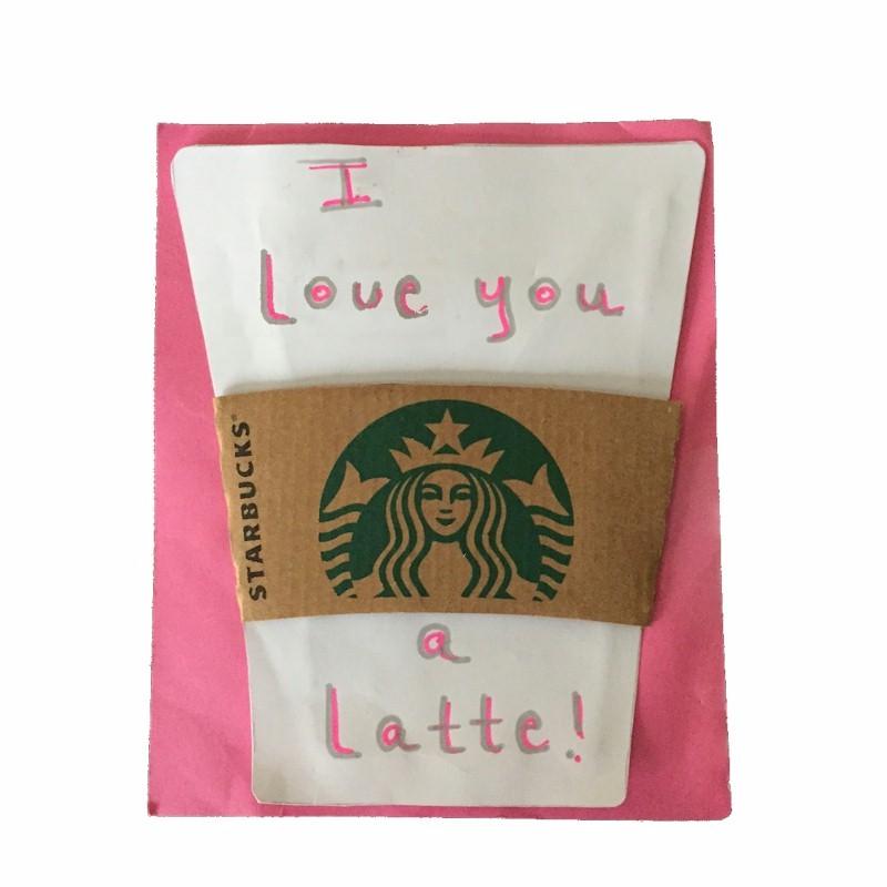 Image of Latte Card