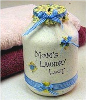 Laundry Loot Jar