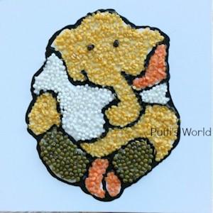 Image of Hindu Elephant God Craft