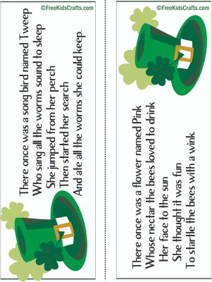 Image of St Patricks Day Limerick Lesson