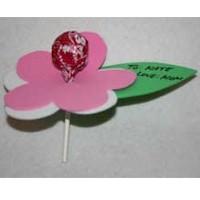 Lollypop Valentine Flower