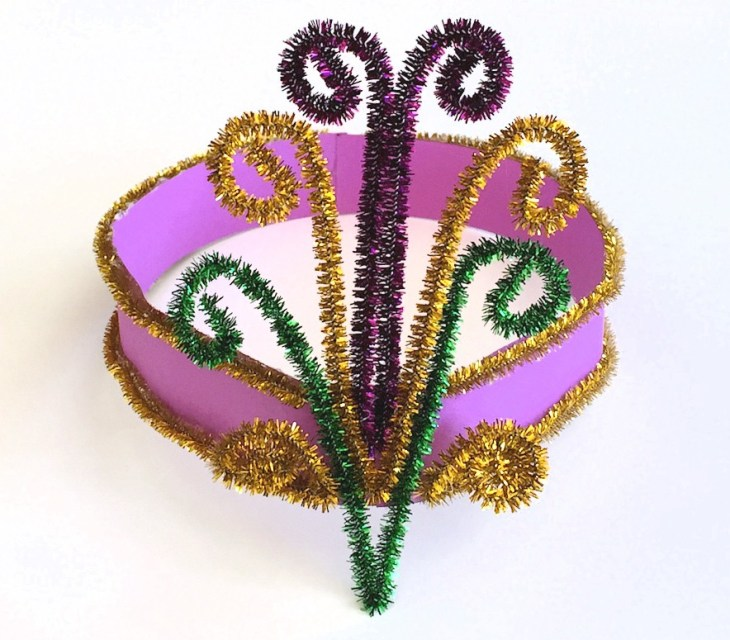 Mardi Gras Headpiece