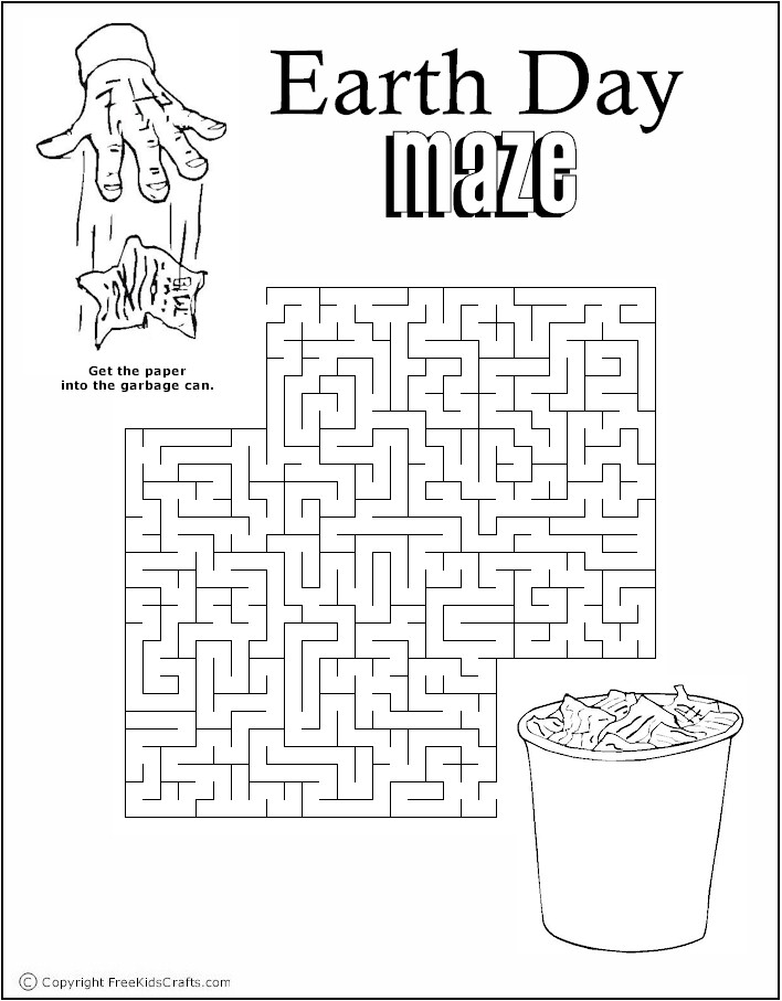Earth Day Word Puzzles