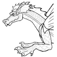 Moveable Dragon Puppet