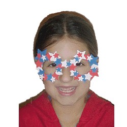 Image of Red White and Blue Parade Glasses