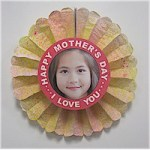 Image of Mothers Day Flower Card