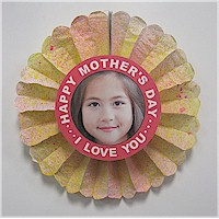 Mother's Day Flower Photo Card