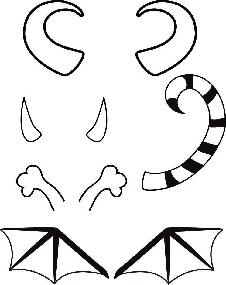 picture relating to Build a Monster Printable called Monster Printables