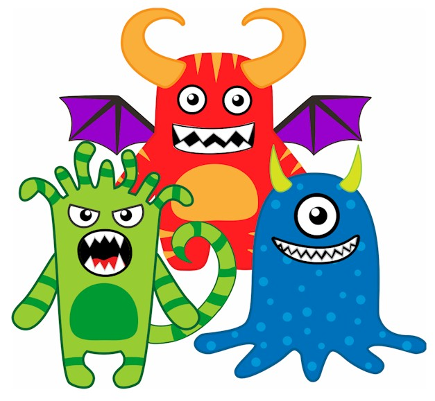 image about Printable Monster called Monster Printables