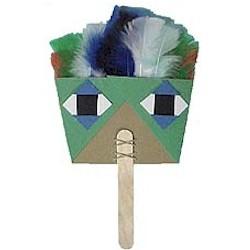 Image of Native American Dance Fan