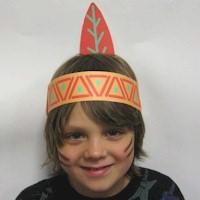 Image of Printable Native American Headdress