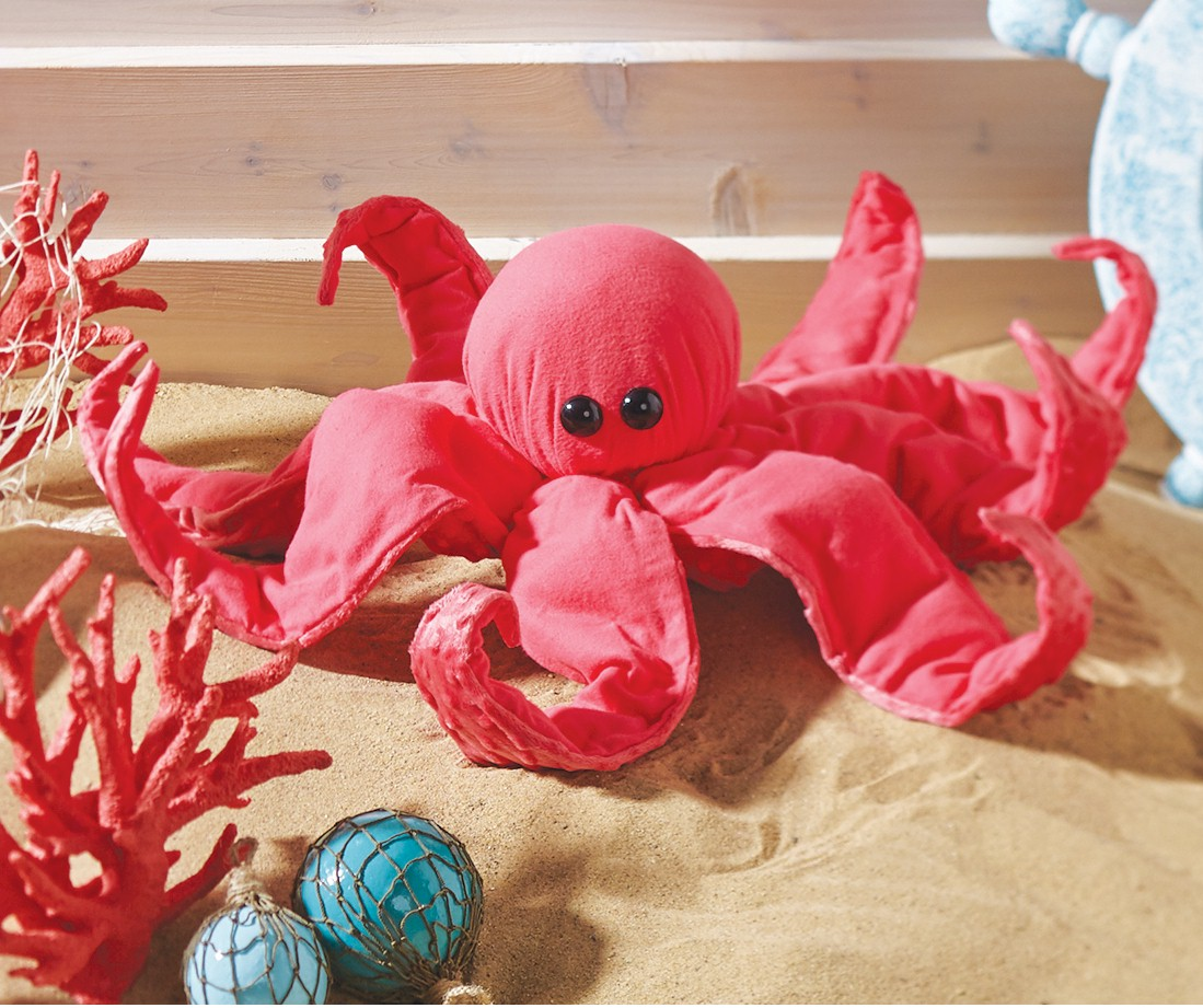 Image of No Sew Fleece Octopus