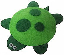 No Sew Felt Turtle Bean Bag