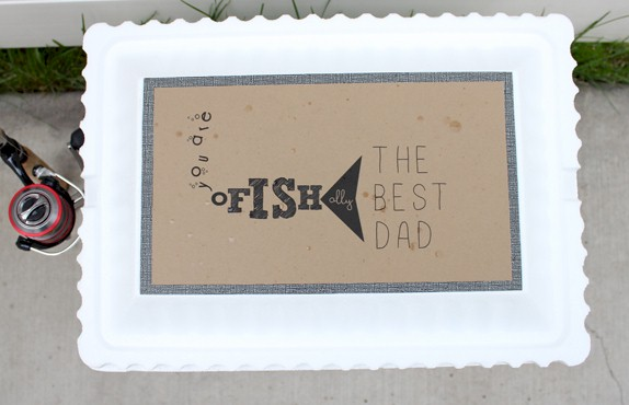 "O""Fish""al Father's Day Gift Container"