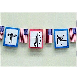 Image of Summer Olympic Garland