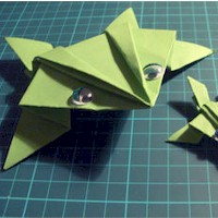 Image of Origami Frog