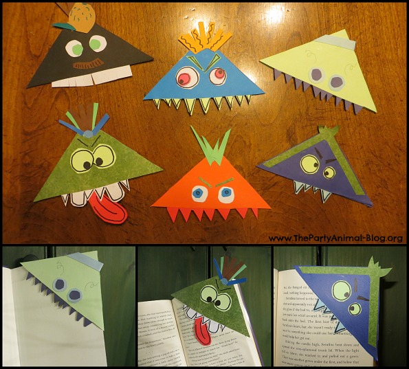 Monster Bookmark