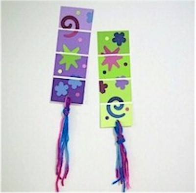 Image of Paint Chip Bookmark