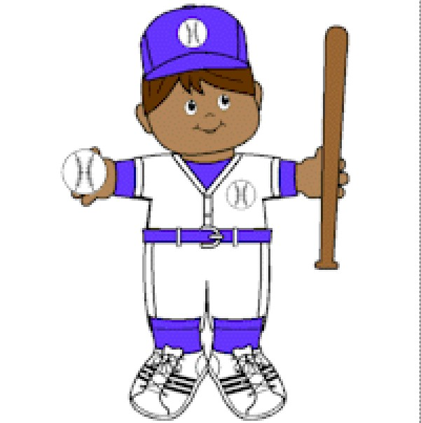Image of Playtime Baseball Paper Doll