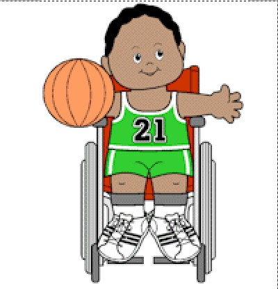 Image of Playtime Paper Doll Basketball Players