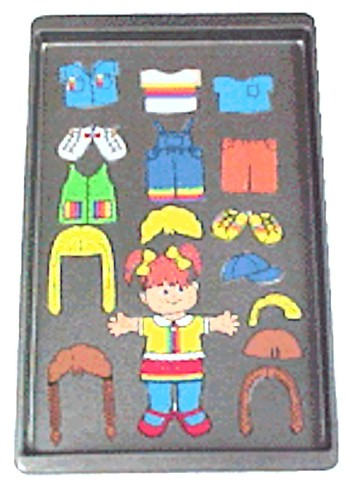 Image of Magnetic Playtime Paper Doll Travel Fun