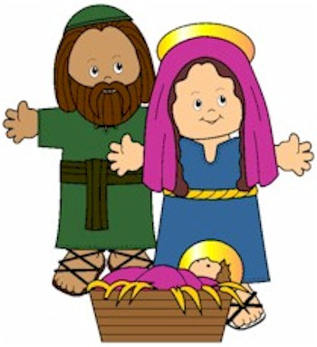 Image of Playtime Nativity Paper Dolls