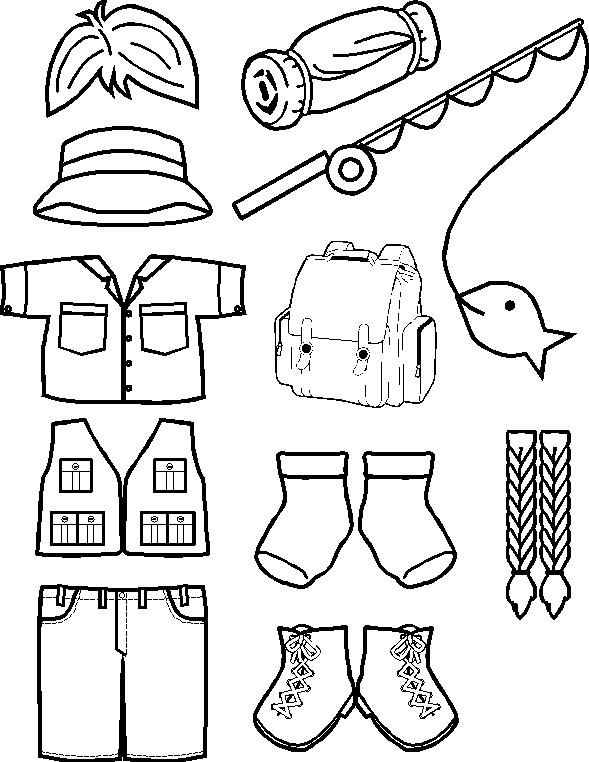 Playtime Outdoors Paper Doll