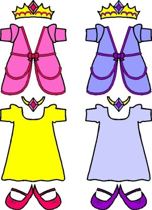 Image of Playtime Paper Doll Princess