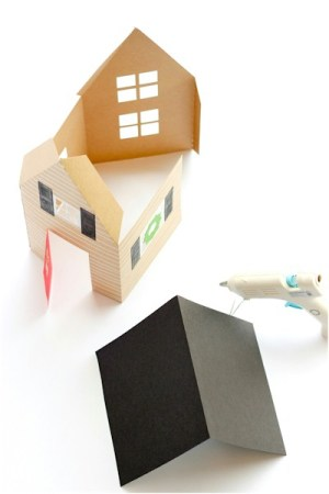 Image of Holiday Houses Made From Paper