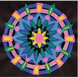 Image of Sanded Paper Mandalas