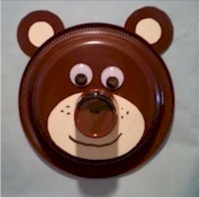 Paper Plate Bear
