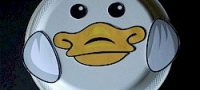 Paper Plate Duck | Free Kids Crafts