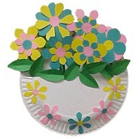 sc 1 st  FreeKidsCrafts & Paper Plate Flower Basket