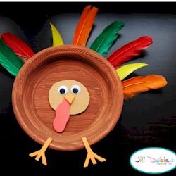 & Paper Plate Turkey