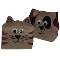 Image of Paper Bag Animals