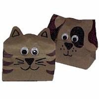 Image of Paper Bag Animals
