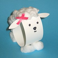 Image of Paper Loop Lamb