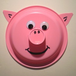 Image of Paper Plate Pig