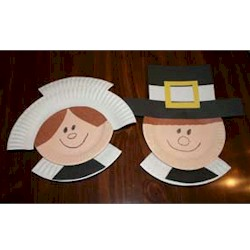 Image of Paper Plate Pilgrims