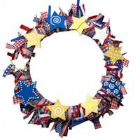 Image of Patriotic Wreath