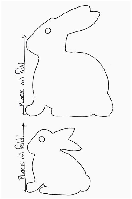 Paper Bunny Chain