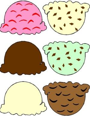 Image of Ice Cream Cone Printable