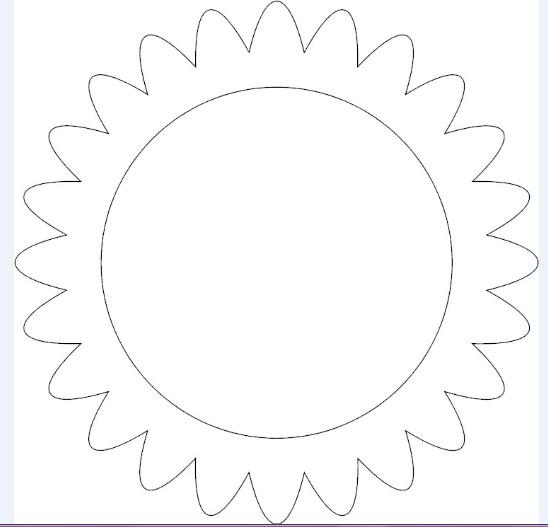 Tissue Paper Sunflower