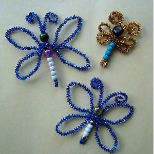 Pipe Cleaner Butterfly Craft